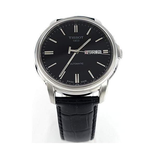 ティソ 腕時計 TISSOT T0654301605100 ウォッチ メンズ 男性用 Tissot Men's T0654301605100 Analog Display Swiss Automatic Black Watch