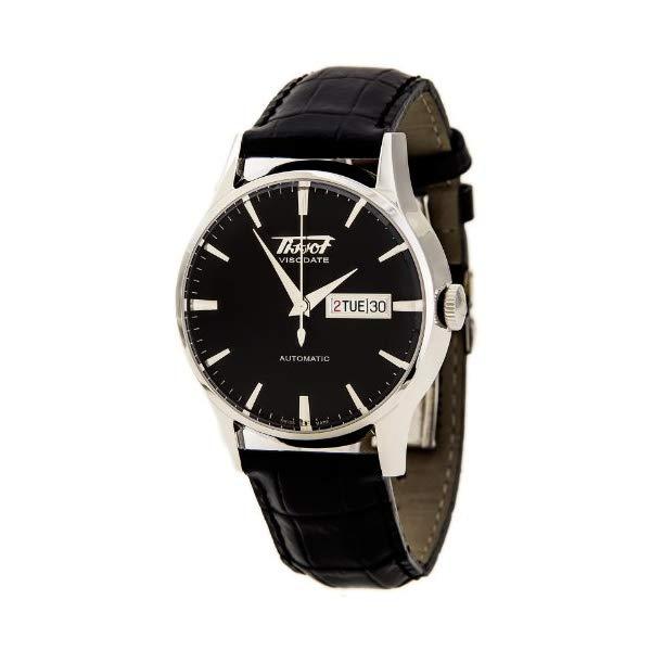 ティソ 腕時計 TISSOT T019.430.16.051.01 ウォッチ メンズ 男性用 Tissot Men's Visodate Automatic Black Watch