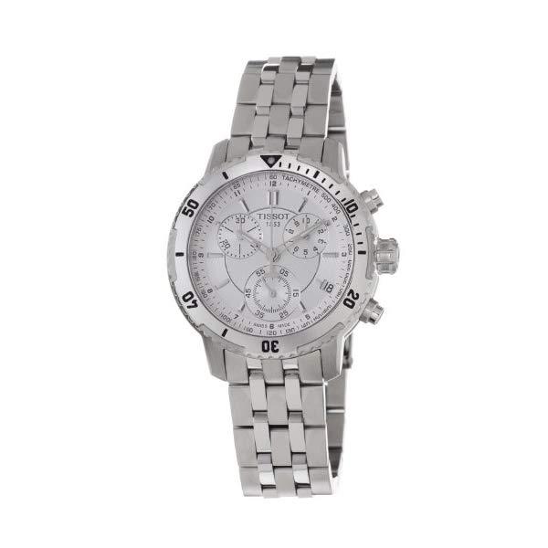 """ティソ 腕時計 TISSOT T0674171103100 ウォッチ メンズ 男性用 Tissot PRS 200 Chrono Silver Dial Men""""s watch #T067.417.11.031.00"""