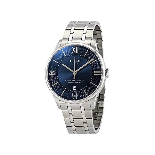 ティソ 腕時計 TISSOT T0994071104800 ウォッチ メンズ 男性用 Tissot Mens Chemin Des Tourelles Powermatic 80 - T0994071104800
