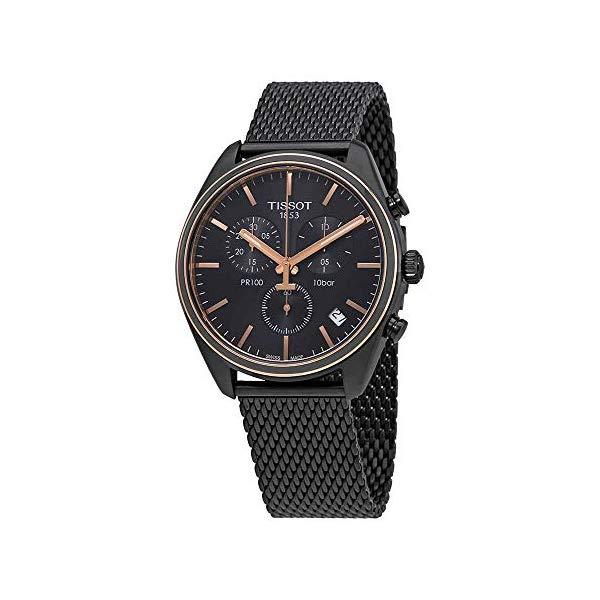 ティソ 腕時計 TISSOT T1014172306100 ウォッチ メンズ 男性用 Tissot Mens PR 100 Chronograph - T1014172306100