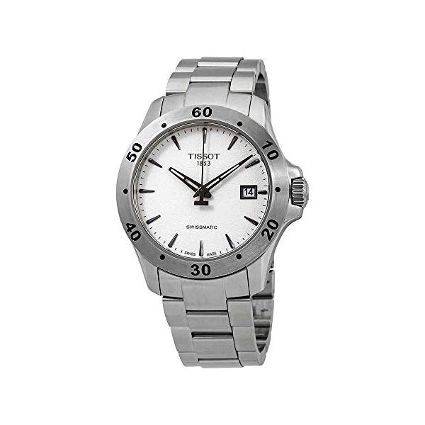 ティソ 腕時計 TISSOT T1064071103101 ウォッチ メンズ 男性用 Tissot V8 Automatic Silver Dial Mens Watch T1064071103101