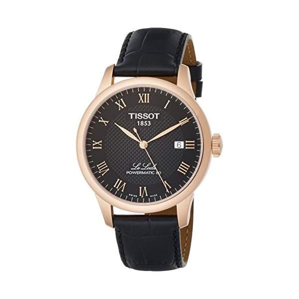 ティソ 腕時計 TISSOT T0064073605300 ウォッチ メンズ 男性用 Tissot T-Classic Automatic Black Dial Mens Watch T0064073605300