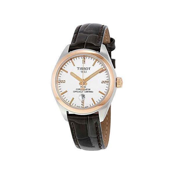 ティソ 腕時計 TISSOT T101.251.26.036.00 ウォッチ レディース 女性用 Tissot PR 100 COSC Silver Dial Ladies Watch T101.251.26.036.00
