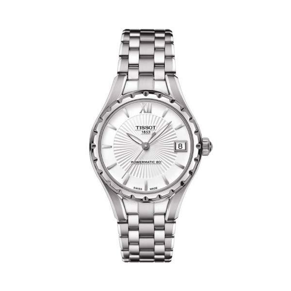 ティソ 腕時計 TISSOT T072.207.11.038.00 ウォッチ レディース 女性用 Tissot T-Lady Powermatic Automatic Silver Dial Stainless Steel Ladies Watch T0722071103800