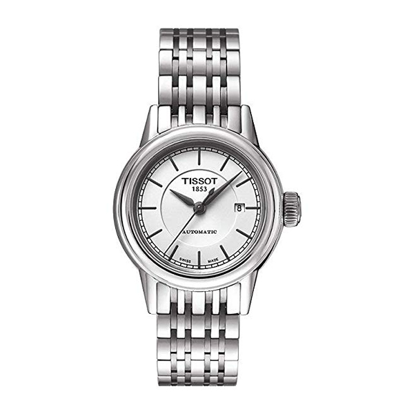 ティソ 腕時計 TISSOT T085.207.11.011.00 ウォッチ レディース 女性用 Tissot Carson Automatic White Dial Stainless Steel Ladies Watch T0852071101100