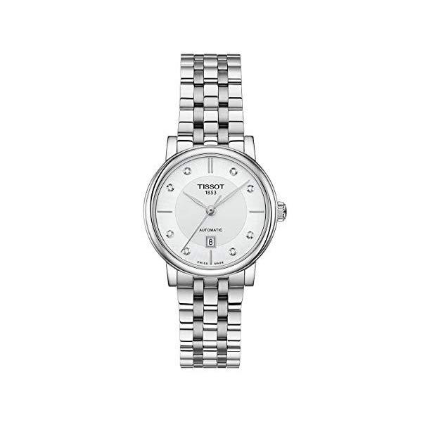 ティソ 腕時計 TISSOT T1222071103600 ウォッチ レディース 女性用 Tissot Carson Diamond Stainless Steel Ladies Watch T122.207.11.036.00