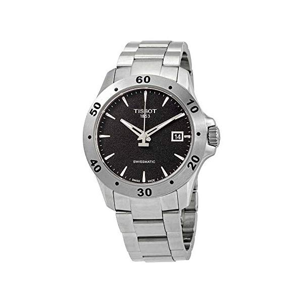 ティソ 腕時計 TISSOT T106.407.11.051.00 ウォッチ メンズ 男性用 Tissot Men's V8 Swissmatic Stainless Steel Automatic Watch T1064071105100