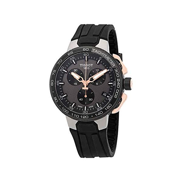 ティソ 腕時計 TISSOT T1114173744107 ウォッチ Tレース Tissot T-Race Cycling Black Rose Gold T111.417.37.441.07