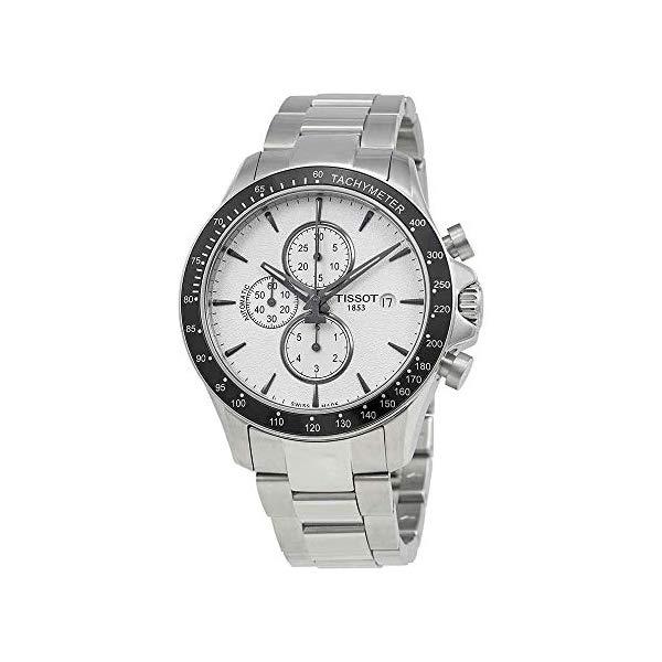 ティソ 腕時計 TISSOT T106.427.11.031.00 ウォッチ メンズ 男性用 Tissot V8 Chronograph Silver Dial Men's Watch T106.427.11.031.00