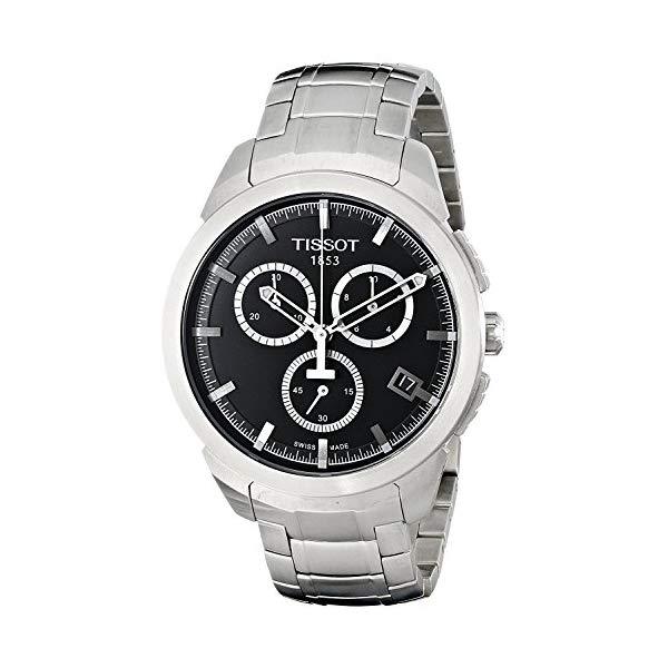 ティソ 腕時計 TISSOT T069.417.44.051.00 ウォッチ メンズ 男性用 Tissot Watches Men's T069.417.44.051.00 Titanium Watch (Black)