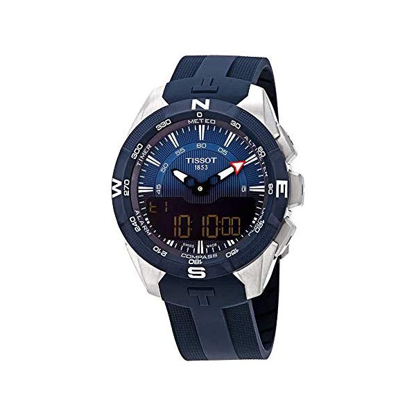 ティソ 腕時計 TISSOT T1104204704100 ウォッチ メンズ 男性用 Tissot T Touch Blue Dial Men's Analog-Digital Watch T110.420.47.041.00