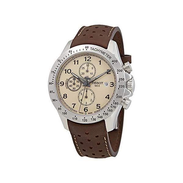 ティソ 腕時計 TISSOT T1064271626200 ウォッチ メンズ 男性用 Tissot V8 Automatic Cream Dial Mens Watch T106.427.16.262.00