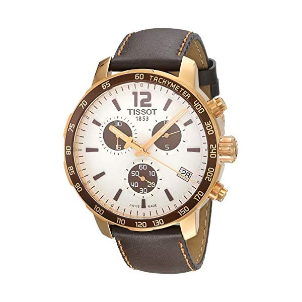 "ティソ 腕時計 TISSOT T0954173603701 ウォッチ メンズ 男性用 Tissot Men""s Stainless Steel Quartz Watch, Brown, 18 (Model: T0954173603701)"