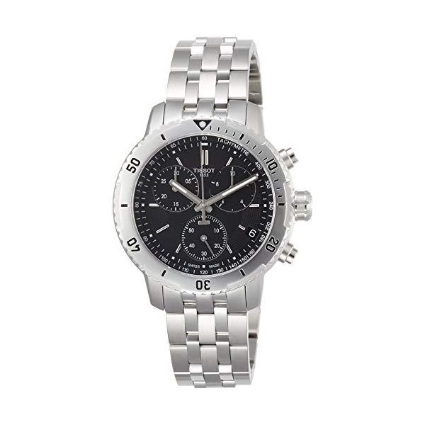 ティソ 腕時計 TISSOT T0674171105101 ウォッチ メンズ 男性用 Tissot PRS 200 Stainless Steel Chronograph Mens Watch T0674171105101