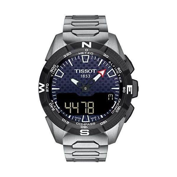 ティソ 腕時計 TISSOT T1104204405100 ウォッチ メンズ 男性用 Tissot Mens T-Touch Expert Solar II Mens Watch Titanium T1104204405100