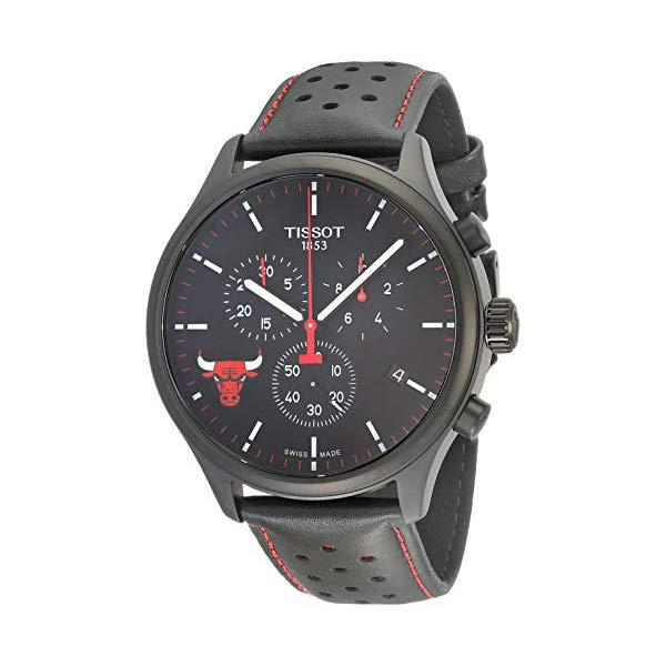 ティソ 腕時計 TISSOT T1166173605100 ウォッチ NBA メンズ 男性用 Tissot Mens Chrono XL NBA Chronograph Chicago Bulls - T1166173605100