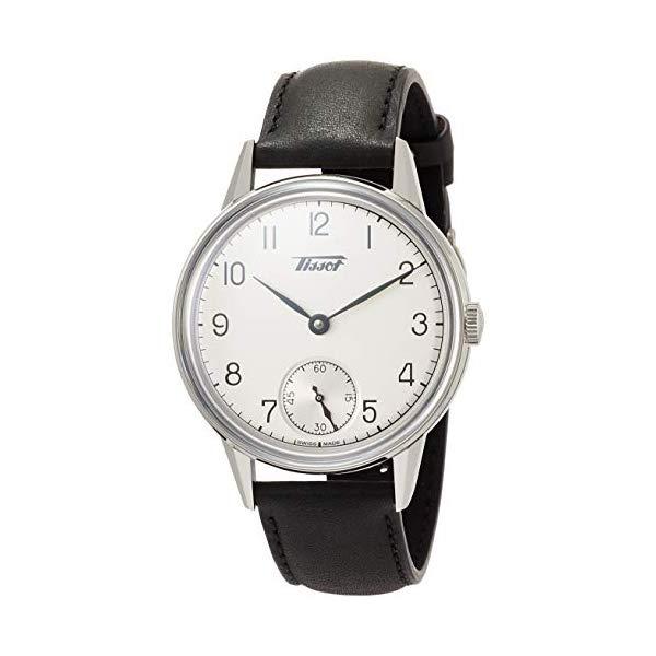 ティソ 腕時計 TISSOT T1194051603700 ウォッチ Tissot Tradition Petite Seconde 2018 Black Leather Watch T119.405.16.037.00