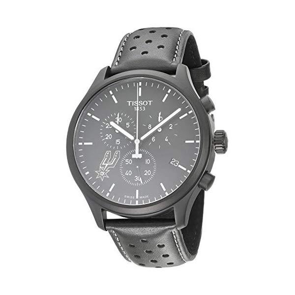 ティソ 腕時計 TISSOT T1166173605104 ウォッチ NBA メンズ 男性用 Tissot Mens Chrono XL NBA Chronograph San Antonio Spurs - T1166173605104