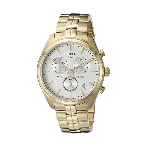 ティソ 腕時計 TISSOT T1014173303100 ウォッチ メンズ 男性用 Tissot Men's T1014173303100 Analog Display Quartz Gold Watch