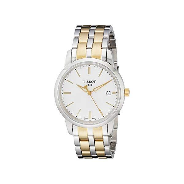 ティソ 腕時計 TISSOT T033.410.22.011.00 ウォッチ メンズ 男性用 Tissot Men's T033.410.22.011.00 White Dial Classic Dream Watch