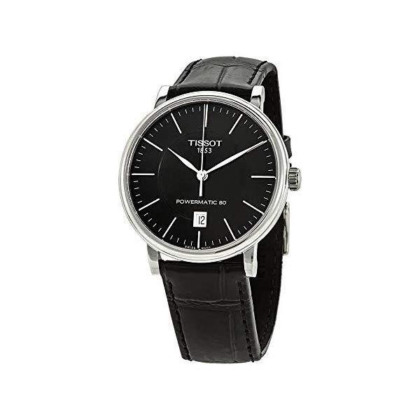 ティソ 腕時計 TISSOT T1224071605100 ウォッチ メンズ 男性用 Tissot T122.407.16.051.00 Carson Premium Powermatic 80 Men's Watch