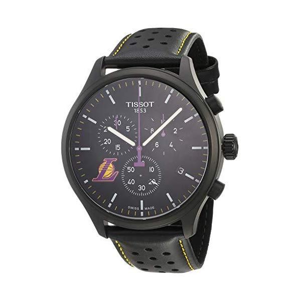 ティソ 腕時計 TISSOT T1166173605103 ウォッチ NBA メンズ 男性用 Tissot Mens Chrono XL NBA Chronograph La Lakers - T1166173605103