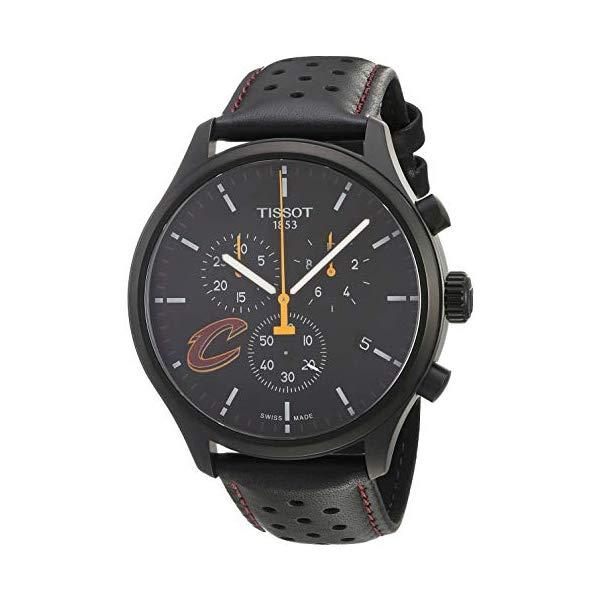 ティソ 腕時計 TISSOT T1166173605101 ウォッチ NBA メンズ 男性用 Tissot Mens Chrono XL NBA Chronograph Cleveland Cavaliers - T1166173605101