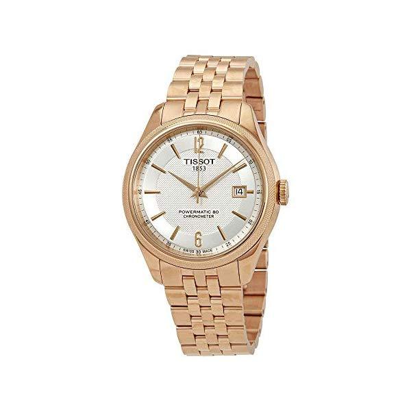 ティソ 腕時計 TISSOT T108.408.33.037.00 ウォッチ メンズ 男性用 Tissot Ballade Automatic Chronometer Silver Dial Mens Watch T108.408.33.037.00