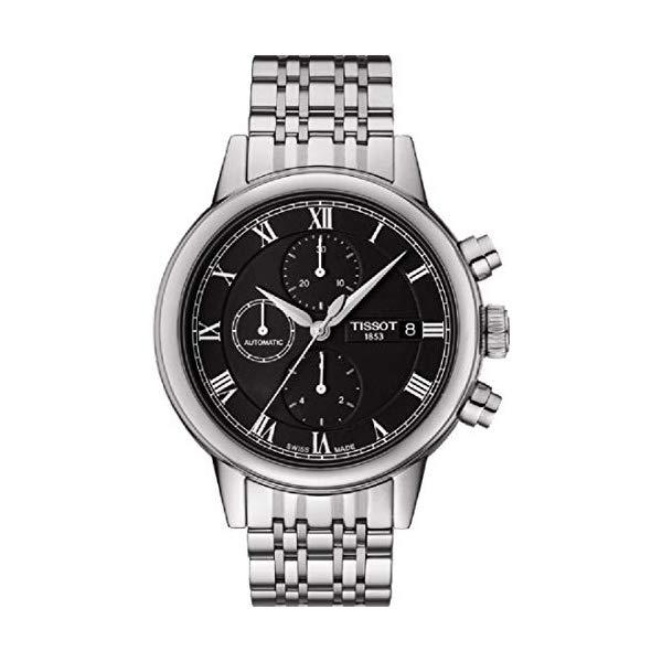 ティソ 腕時計 TISSOT T085.427.11.053.00 ウォッチ メンズ 男性用 Tissot Carson Automatic Chronograph Men's Watch T085.427.11.053.00
