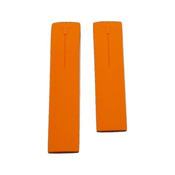 ティソ 腕時計 TISSOT T610026263 ウォッチ 替えバンド 替えベルト ストラップ Tissot T-Touch II Expert Orange Rubber Band Strap [CHECK FOR T013420 or T047420 FROM THE BACK OF WATCH]