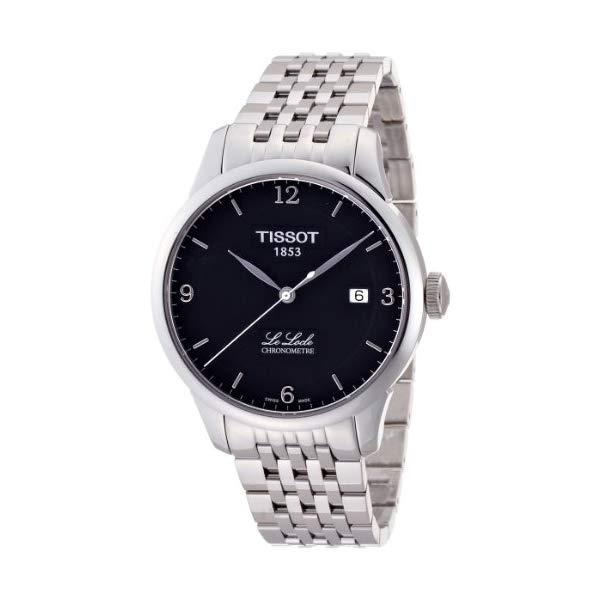 ティソ 腕時計 TISSOT T0064081105700 ウォッチ メンズ 男性用 Tissot Mens Le Locle Chronometre Black Dial Mens Watch T006.408.11.057.00