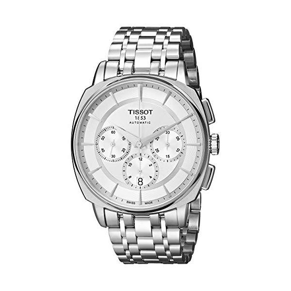 ティソ 腕時計 TISSOT T0595271103100 ウォッチ メンズ 男性用 Tissot Men's T0595271103100 T Lord Analog Display Swiss Automatic Silver Watch