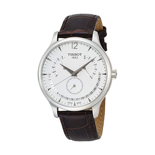 ティソ 腕時計 TISSOT T0636371603700 ウォッチ メンズ 男性用 Tissot Mens Perpetual Calendar Tradition Watch T063.637.16.037.00
