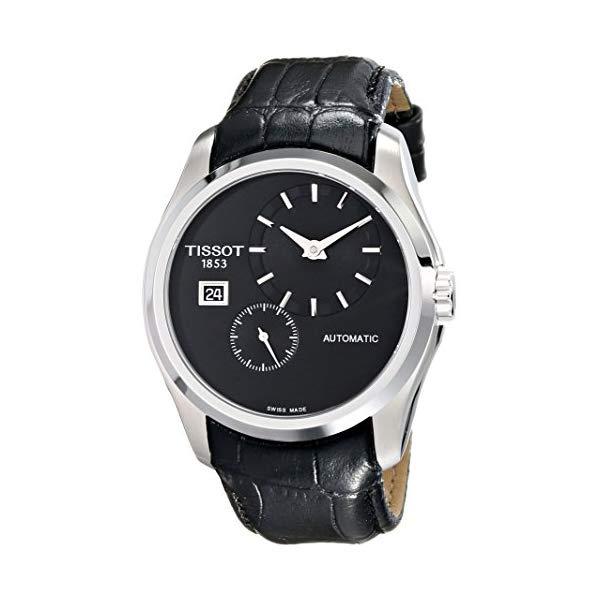 ティソ 腕時計 TISSOT T0354281605100 ウォッチ メンズ 男性用 Tissot Men's T0354281605100 Analog Display Automatic Self Wind Black Watch
