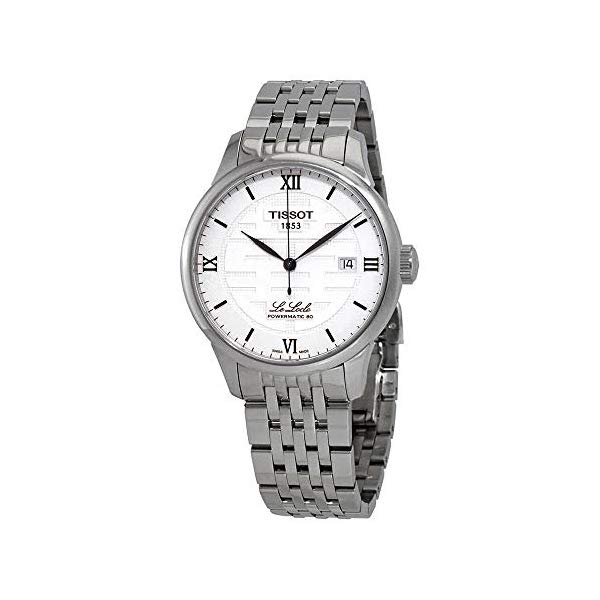 ティソ 腕時計 TISSOT T006.407.11.033.01 ウォッチ メンズ 男性用 Tissot Le Locle Double Happiness Silver Dial Automatic Men's Watch T006.407.11.033.01