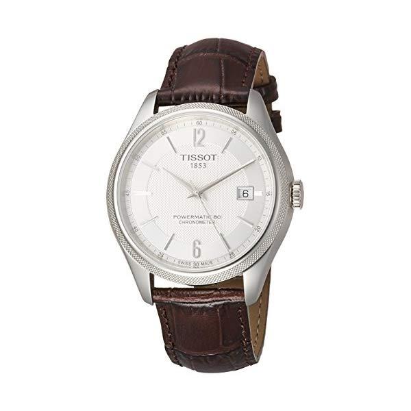 ティソ 腕時計 TISSOT T1084081603700 ウォッチ メンズ 男性用 Tissot T108.408.16.037.00 Ballade Powermatic 80 COSC Men's Watch Brown 41mm Stainless Steel