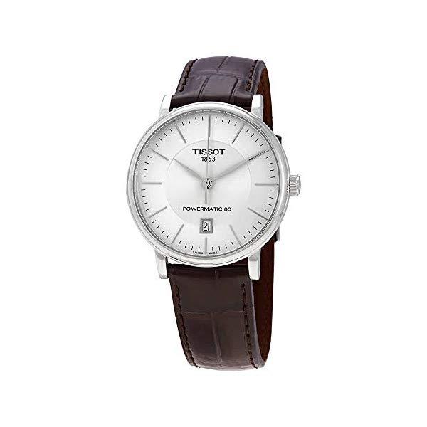 ティソ 腕時計 TISSOT T122.407.16.031.00 ウォッチ メンズ 男性用 Tissot T122.407.16.031.00 Carson Premium Powermatic 80 Men's Watch