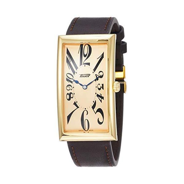 ティソ 腕時計 TISSOT T1175093602200 ウォッチ メンズ 男性用 Tissot Heritage Banana Centenary Mens Watch T117.509.36.022.00