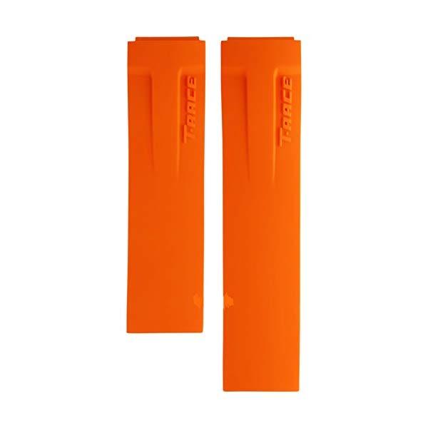 ティソ 腕時計 TISSOT T610030253 ウォッチ Tレース 替えバンド 替えベルト ストラップ Tissot T-Race Orange Rubber Strap Watch Band for Back Case T048417A