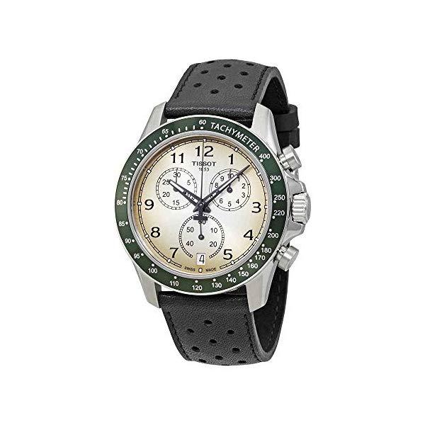 ティソ 腕時計 TISSOT T1064171603200 ウォッチ メンズ 男性用 Tissot Men's Stainless with 受賞店 Brown Strap Steel Watch Model: Quartz Leather-Synthetic 21 希少