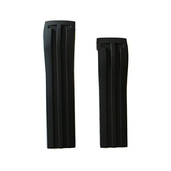 ティソ 腕時計 TISSOT 75885785704 ウォッチ 替えバンド 替えベルト ストラップ Tissot Racing Touch Black Rubber 23mm Strap Band for Back Case T002520A