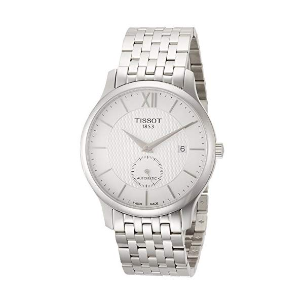 ティソ 腕時計 TISSOT T0634281103800 ウォッチ メンズ 男性用 Tissot T063.428.11.038.00 Men's Watch Tradition Small Second Silver 40mm Stainless Steel