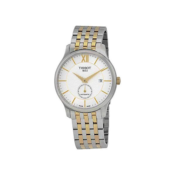 ティソ 腕時計 TISSOT T063.428.22.038.00 ウォッチ メンズ 男性用 Tissot Tradition Automatic Silver Dial Mens Watch T063.428.22.038.00