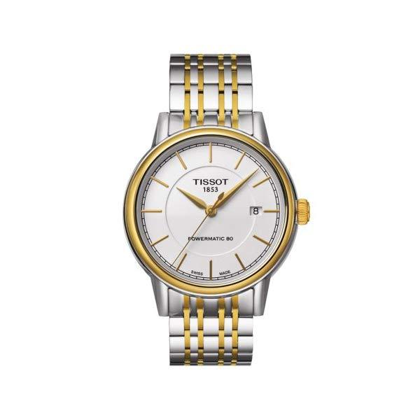 ティソ 腕時計 TISSOT T0854072201100 ウォッチ メンズ 男性用 Tissot Men's T0854072201100 Analog Display Swiss Automatic Two Tone Watch