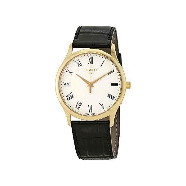 ティソ 腕時計 TISSOT T926.410.16.013.00 ウォッチ メンズ 男性用 Tissot Excellence Men's 18kt Yellow Gold Leather Watch T926.410.16.013.00