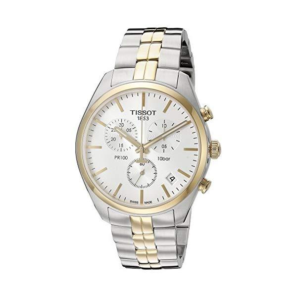 ティソ 腕時計 TISSOT T1014172203100 ウォッチ メンズ 男性用 Tissot Men's T1014172203100 Analog Display Quartz Two Tone Watch