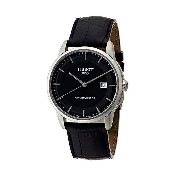 ティソ 腕時計 TISSOT T0864071605100 ウォッチ メンズ 男性用 Tissot Men's T0864071605100 Luxury Analog Display Swiss Automatic Black Watch