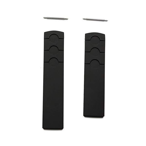 ティソ 腕時計 TISSOT T610029243 ウォッチ 替えバンド 替えベルト ストラップ Tissot PRS 516 Black Rubber 20mm Strap Band for Back Case T044417A