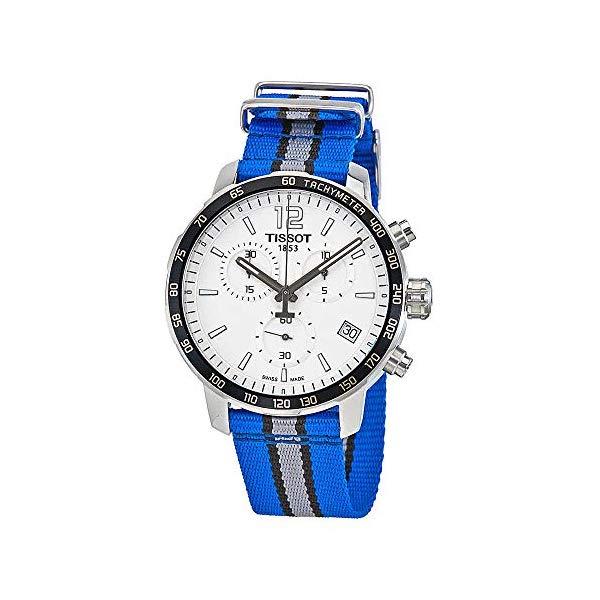 ティソ 腕時計 TISSOT T0954171703731 ウォッチ メンズ 男性用 Tissot Quickster Orlando Magic Chronograph Mens Watch T0954171703731